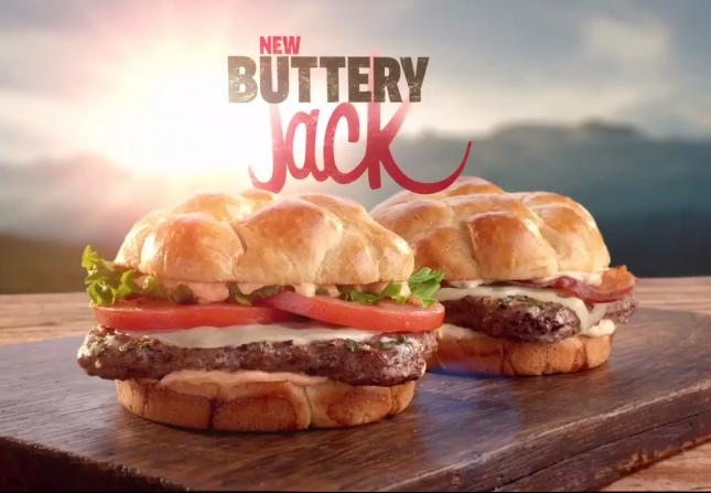 美国餐厅Jack In The Box新品汉堡广告 传奇