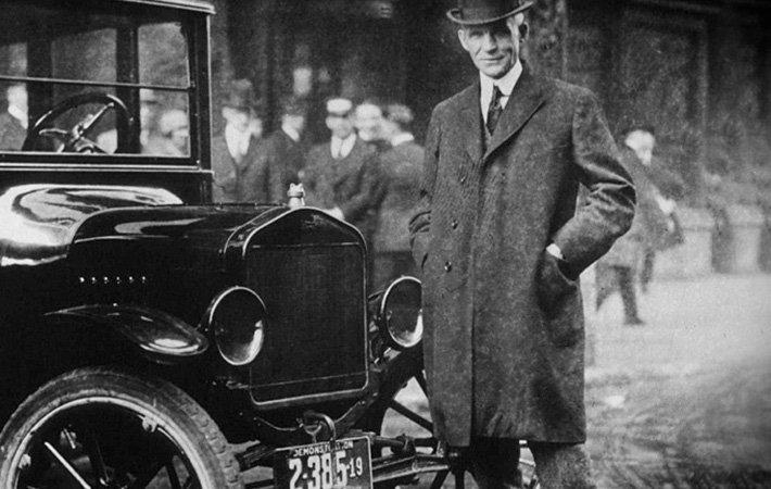 汽车行业革命—亨利·福特