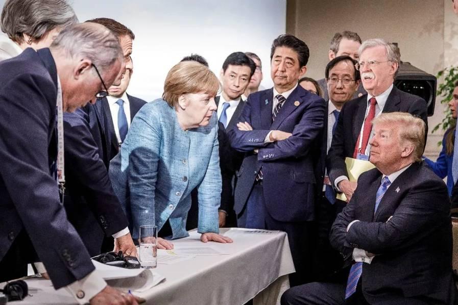 G7峰会落幕 特朗普再发难.jpeg