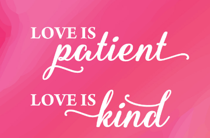 爱是永不止息