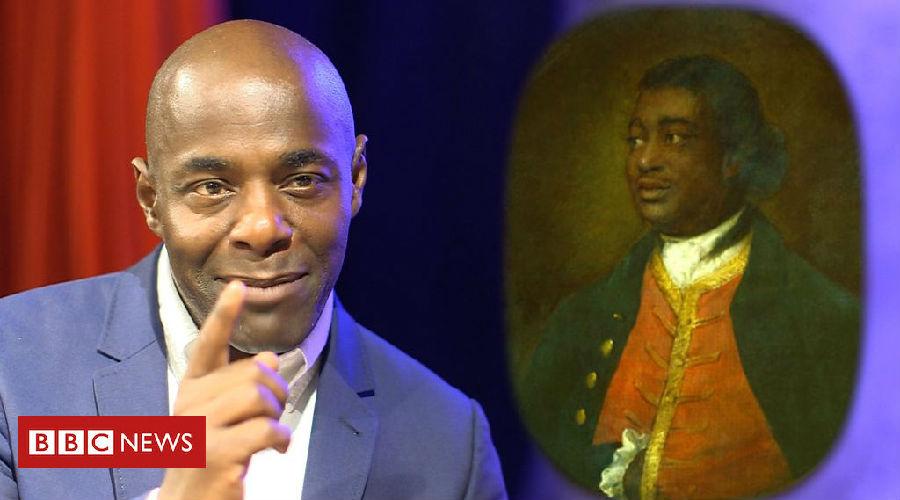 他让我确定了作为一个英国黑人的身份