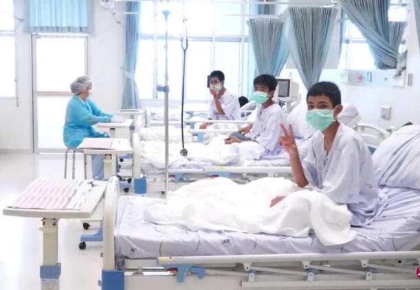 泰国12名被困少年健康状况良好.jpg