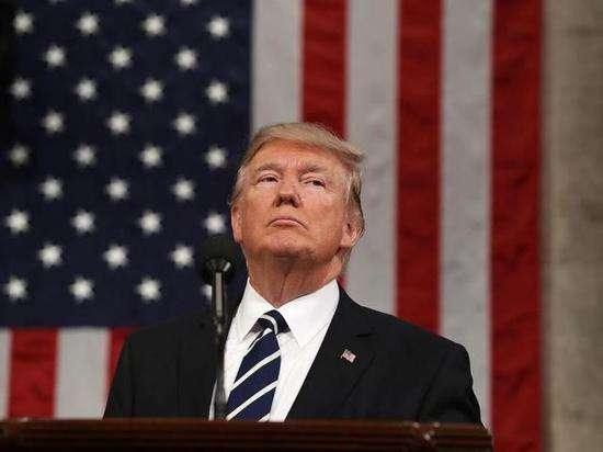 """特朗普警告伊朗总统""""永远别威胁美国"""".jpg"""