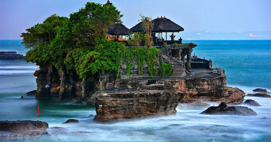 摄影天堂 巴厘岛海神庙