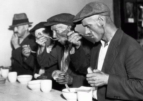 美国经济大萧条时期的人们