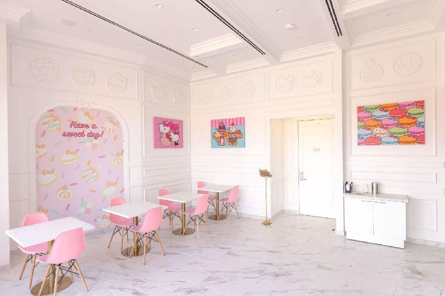 美国开设Hello Kitty主题餐厅,满满都是少女粉!.jpeg