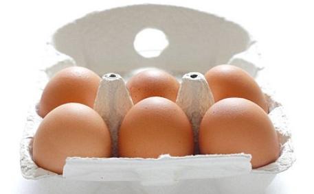 各种类型的鸡蛋