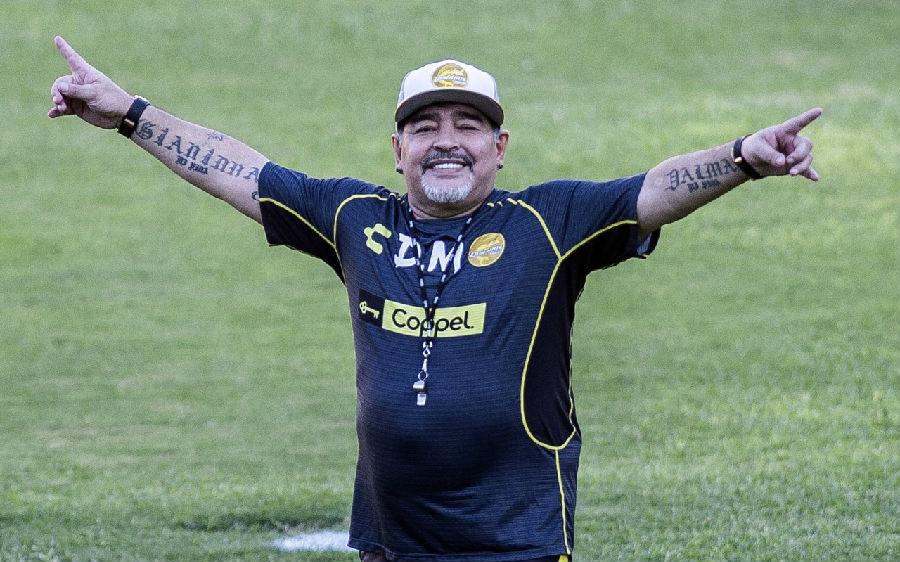马拉多纳执教墨西哥乙级联赛球队
