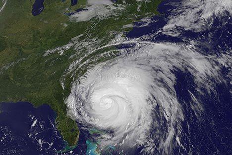 气候变化引起的飓风