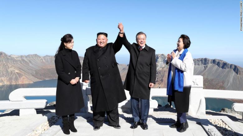 朝韩两国有意联合参加东京奥运会