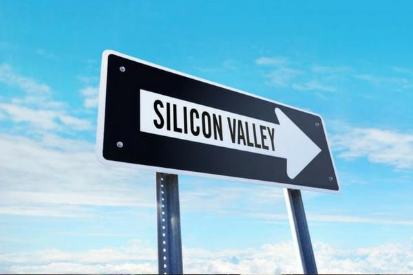 硅谷的相对衰落