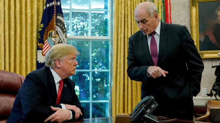 白宫大管家约翰·凯利将于年底离职