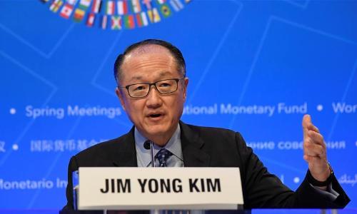 世界银行行长金墉提前三年卸任