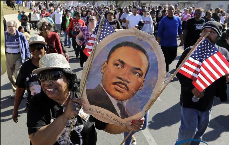 全美各地举办马丁·路德·金纪念活动.jpg