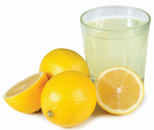 柠檬汁的功效