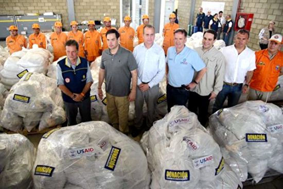 美国联邦参议员马尔科·鲁比奥访问与委内瑞拉接壤的哥伦比亚小镇.jpeg