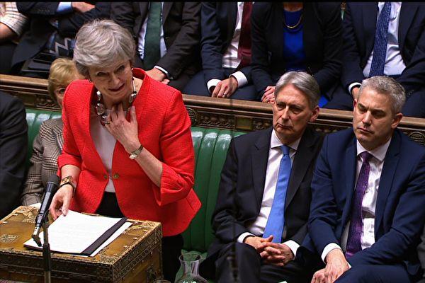 英国议会再次投票否决脱欧协议.jpg