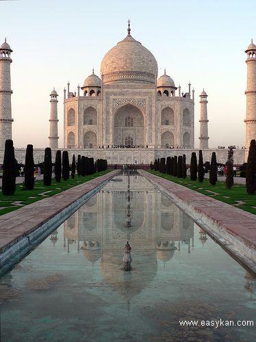 印度泰姬陵资料_世界之旅:Taj Mahal, India (印度泰姬陵)_环球之旅_双语阅读 - 可可英语