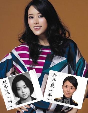 8大女星的证件素颜对比照--时尚双语