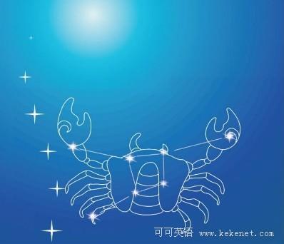 星座英语:thestoryofcancer巨蟹座的传说_星座怎么看狮子座是不是喜欢你图片