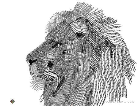 创意图集:30幅动物主题字体设计作品欣赏(上)
