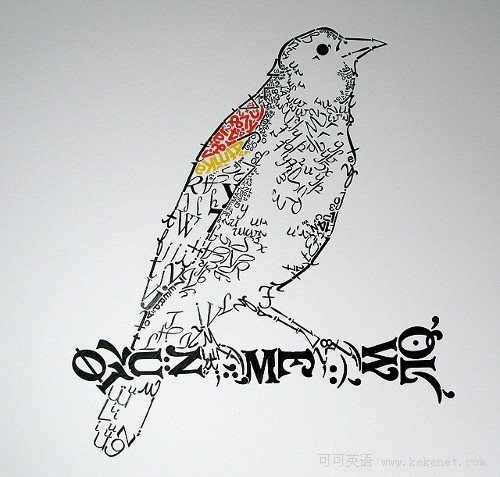 创意图集:30幅动物主题字体设计作品欣赏(下)