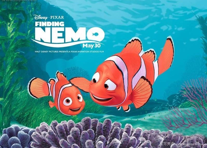 迪士尼经典电影:《海底总动员》