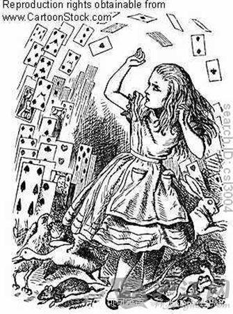 《爱丽丝梦游仙境》十大经典台词中英对照(原版插画)