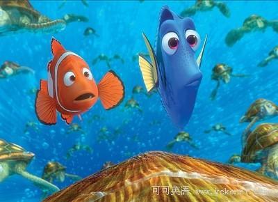 海底一群小鱼简笔画