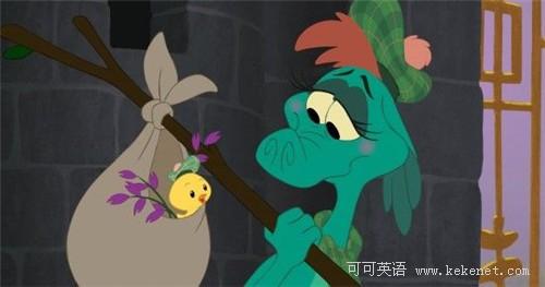 迪士尼手绘动画短片《尼斯湖水怪》亮相