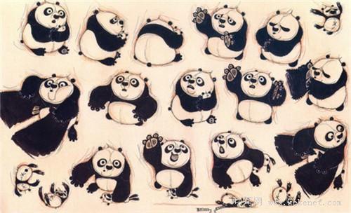《功夫熊猫2艺术设计画册》看图说话揭露幕后真相