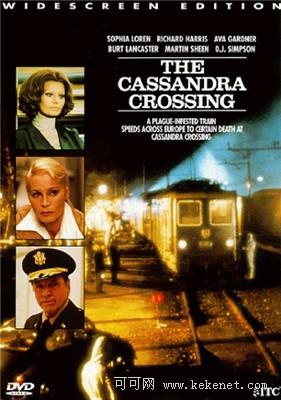 灾难片:电影中的火车出轨掉大桥《卡桑德拉大桥》